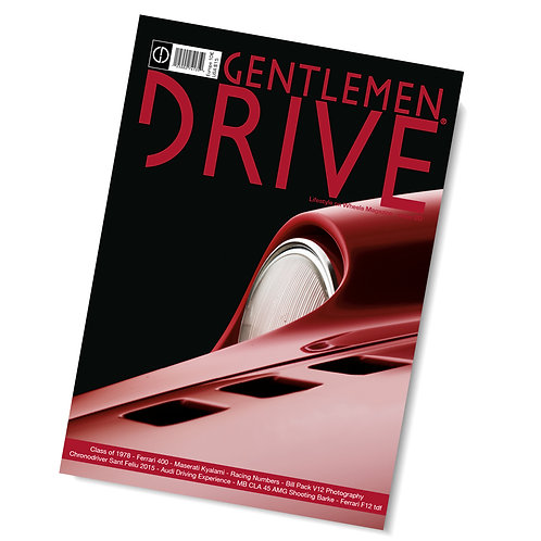 Gentlemen Drive Magazine issue #20