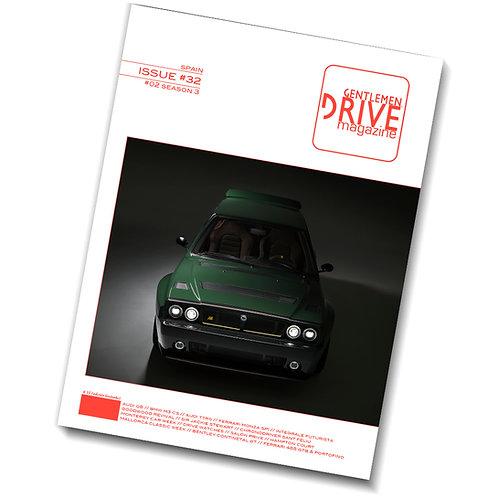 Gentlemen Drive Magazine Issue #32
