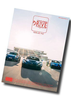 Gentlemen Drive Magazine issue #41