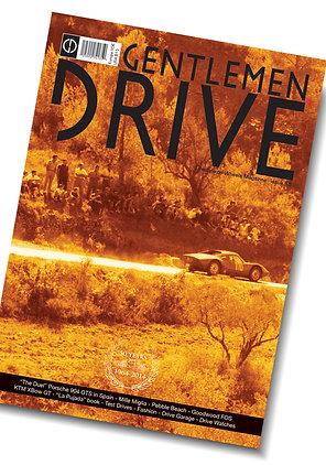 Gentlemen Drive Magazine issue #15