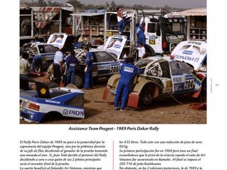 #TBT Peugeot en el Dakar de 1989