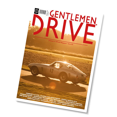 Gentlemen Drive Magazine issue #23