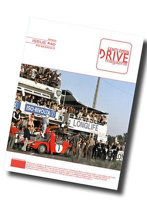 Gentlemen Drive Magazine Issue #40