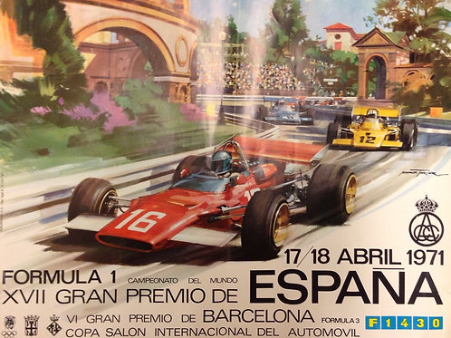 Formula 1 - Gran Premio de España - 1971