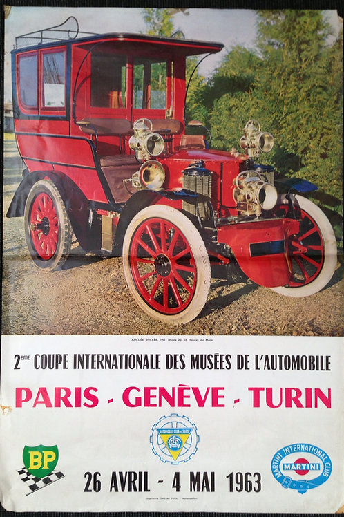 1964 - 2ene Coupe Internationale Paris-Geneve-Turin