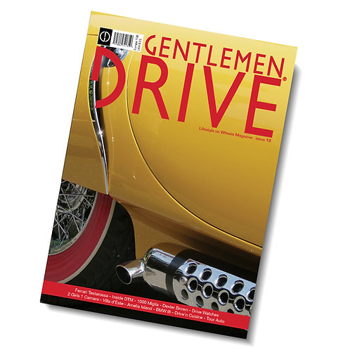 Gentlemen Drive Magazine issue #18