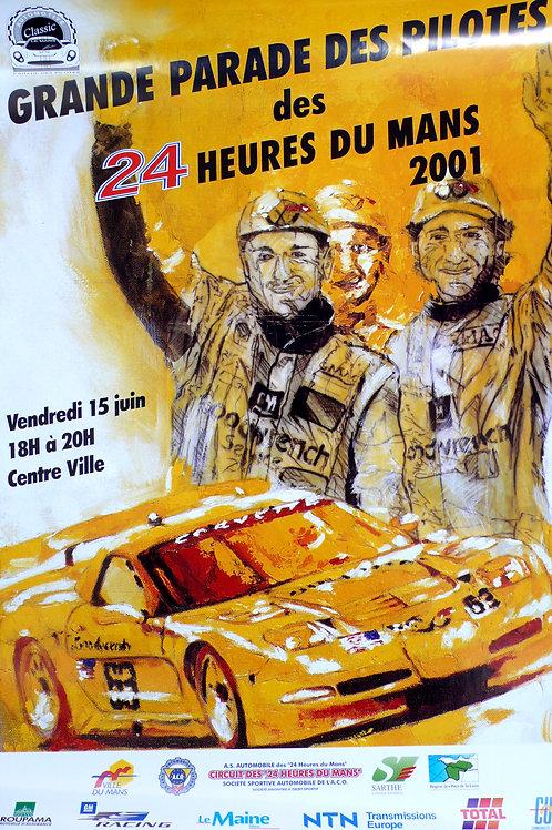 Parade des Pilotes - 24 Heures du Mans 2001