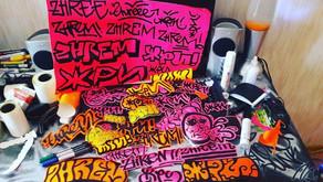 «Жри». Панк-рок и Граффити.