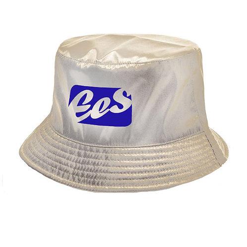 Shiny Bucket Hat (beige/gold)