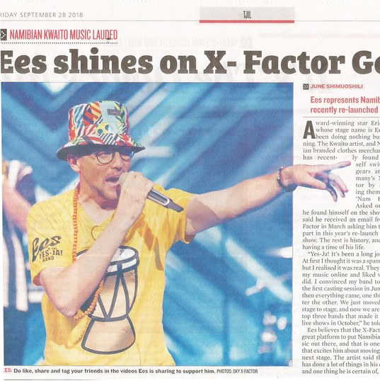 Namibian Sun - X-Factor first article 20
