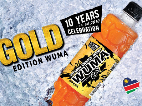 10 Year's WUMA Celebration in GOLD!