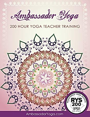 Ambasador Yoga Awakeing Grace 200hr Yoga Teacher Training