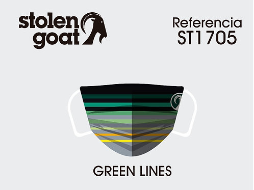 GREEN LINES (MASK ONLY)