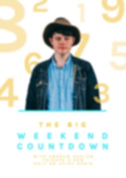 Big Weekend Countdown - Andrew Haslam.pn