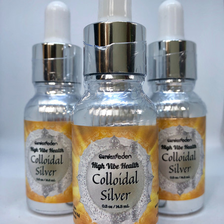 Colloidal Silver: Potent, Gentle, Effective Antiviral & Antibacterial