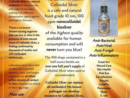 Colloidal Silver for Health & Wellness
