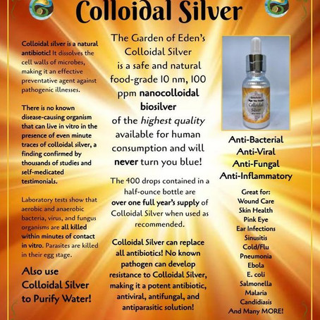 Colloidal Silver for Health & Wellness
