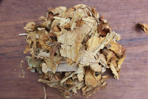 1 pound Organic Homegrown Light Tobacco - Broken Leaf