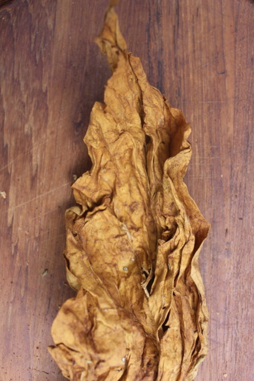 6 oz Organic Homegrown Light Tobacco - Whole Leaf