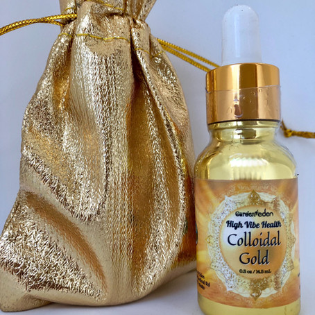 Highest Quality Colloidal Gold from The Garden of Eden