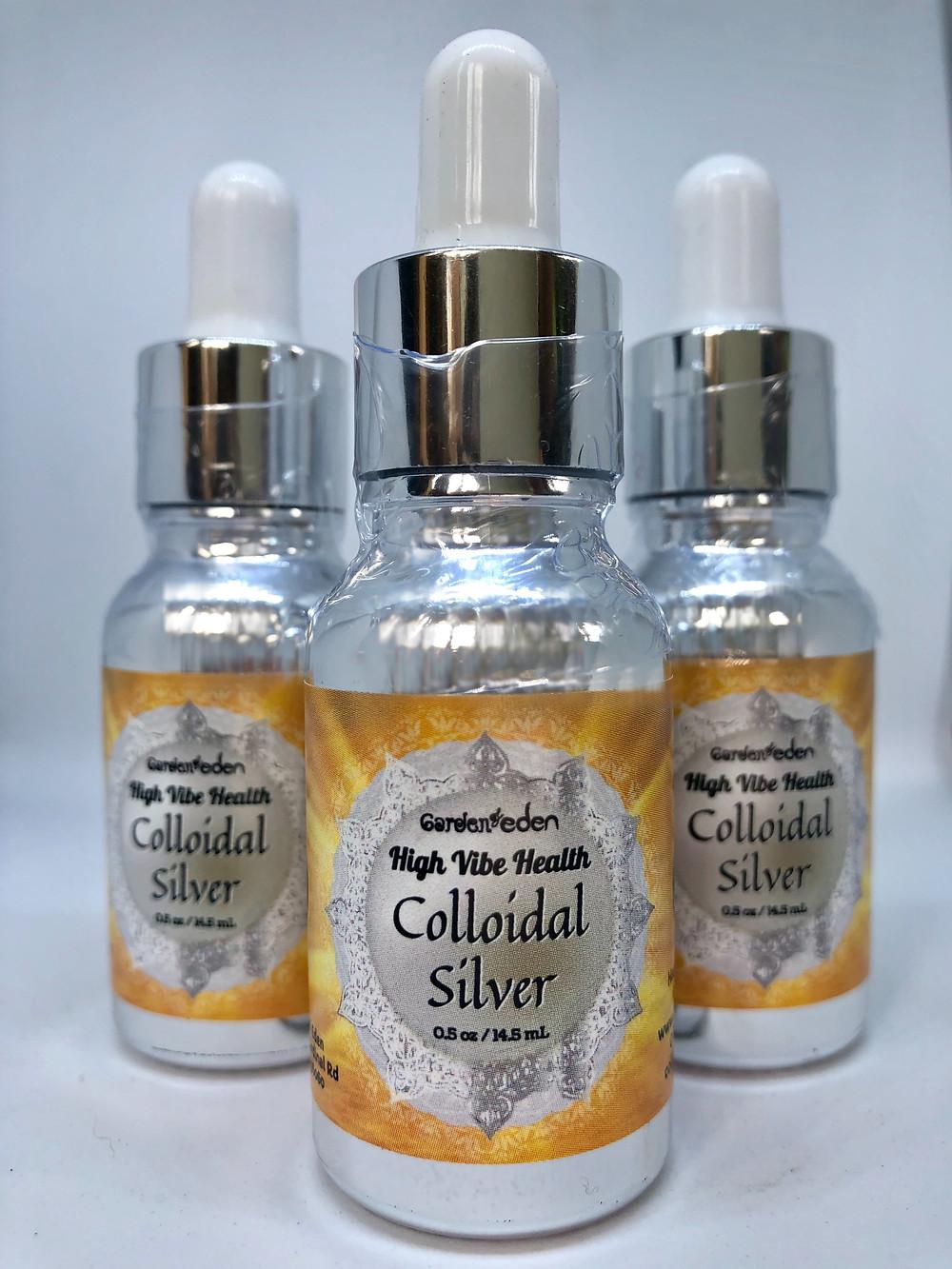 Garden of Eden Colloidal Silver