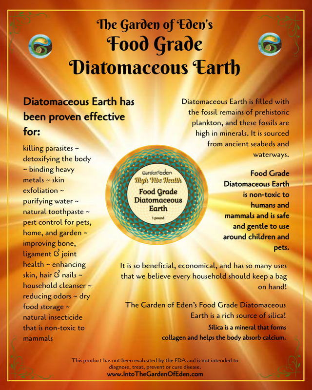Garden of Eden Diatomaceous Earth