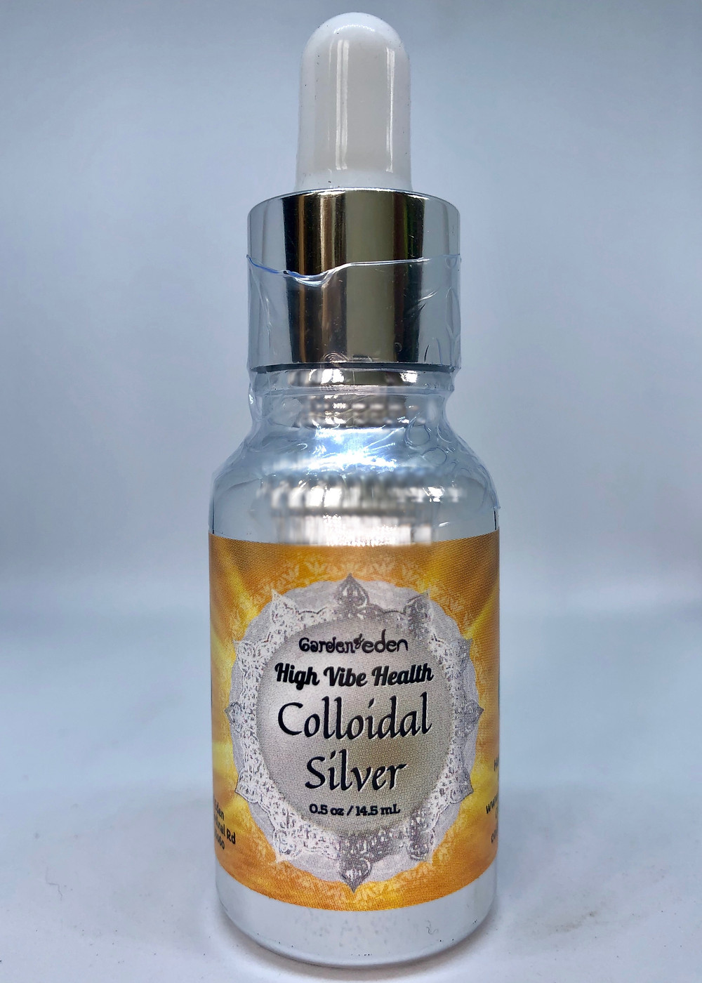 Colloidal Silver Garden of Eden