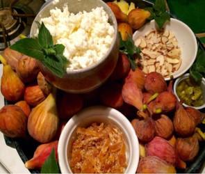Fresh Fig Platter