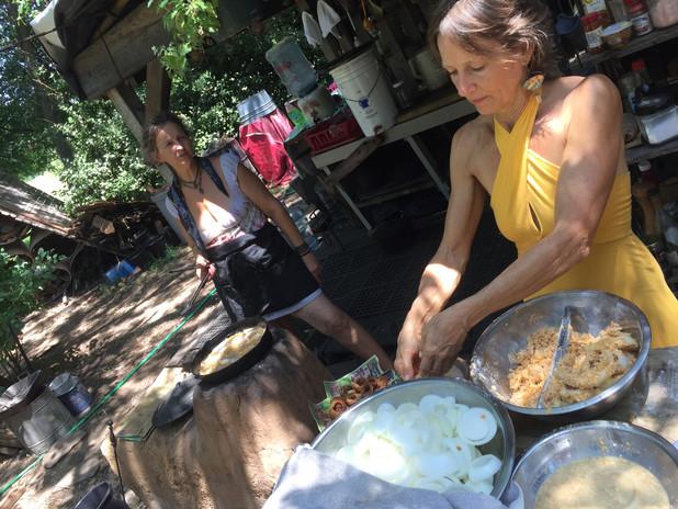 Garden of Eden outdoor kitchen