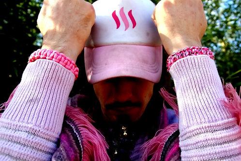 SteemGear Pink Cap