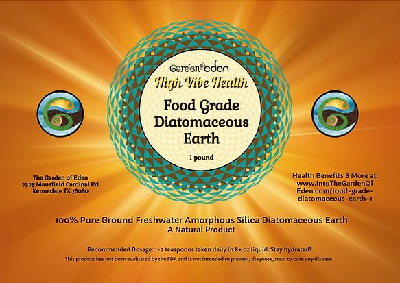 Garden of Eden Diatomaceous Earth 1 lb l