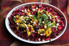 Orange Tahini Beet Salad