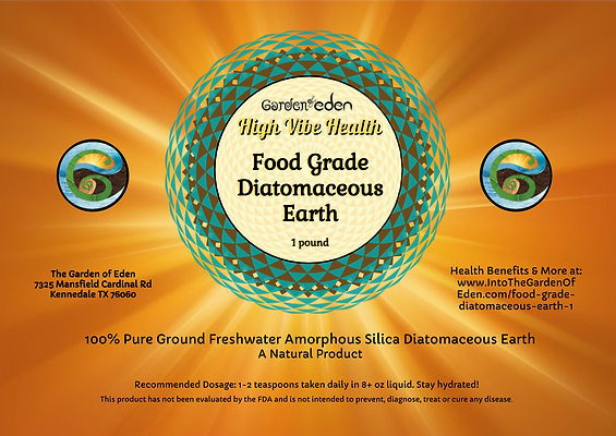 Garden of Eden Diatomaceous Earth 1 lb l