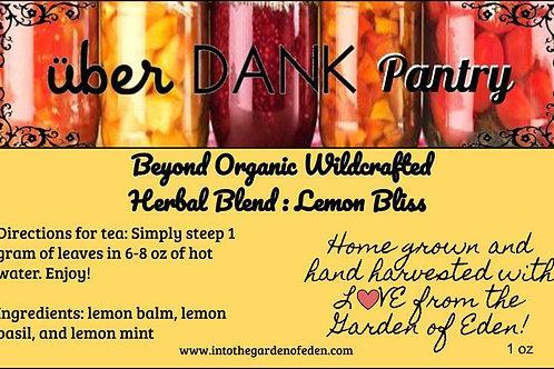 Lemon Bliss Herbal Tea Blend