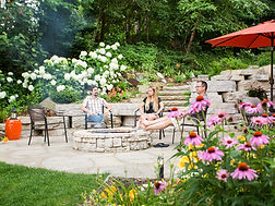 Rosetta Hardscapes create beautiful backyard getaways
