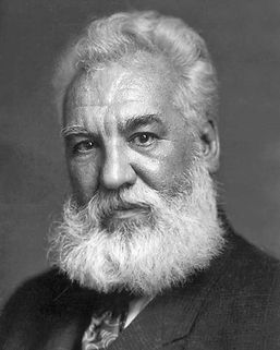 Alexander Graham Bell led the way to the invention of the telephone.