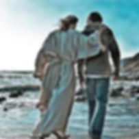 Lent Jesus walking on beach.jpg