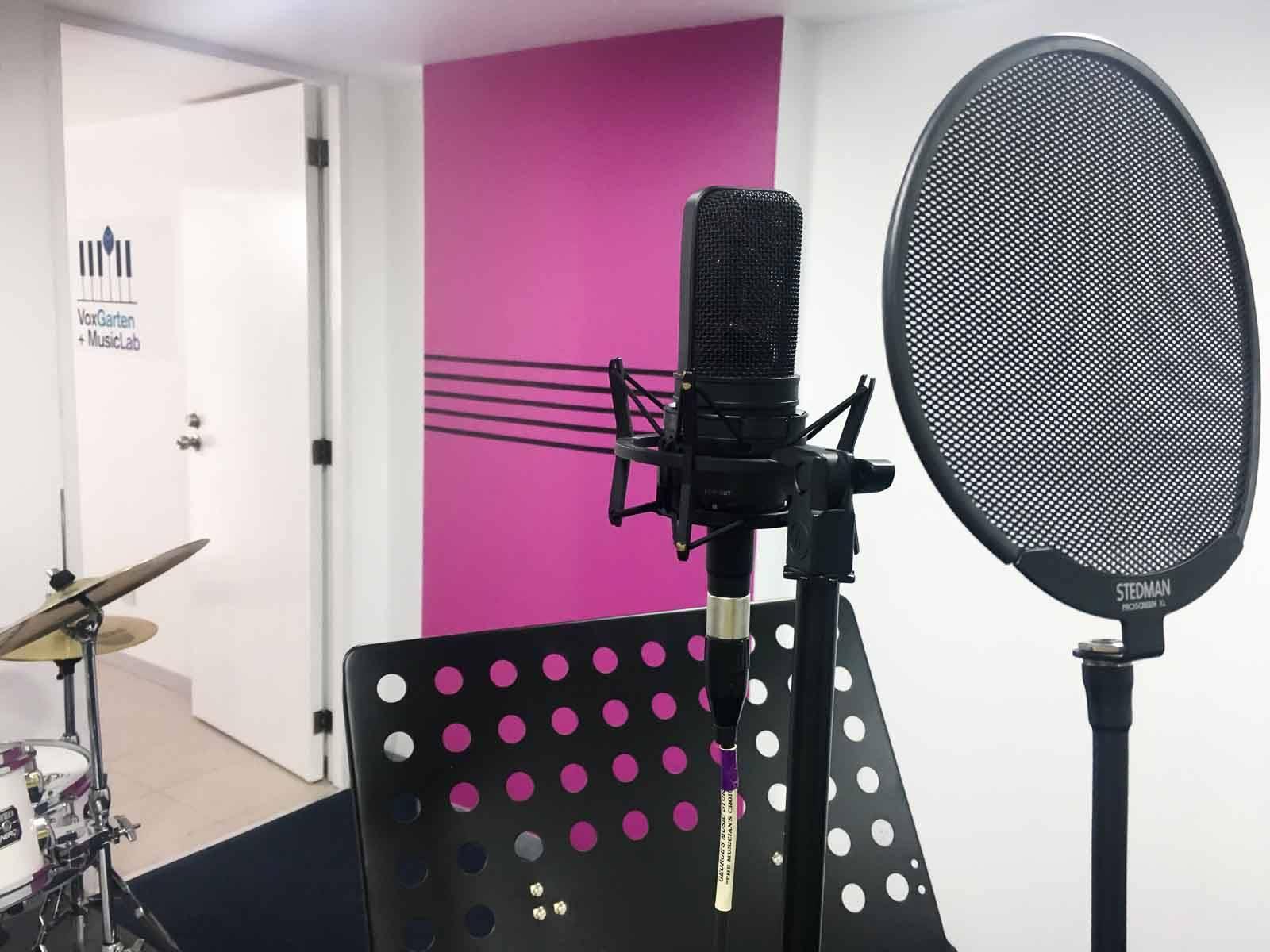 Magenta room_microphone