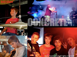 Rock band _CONCRETE_ Singinglessonsgoldcoast.com Ph 0404395318