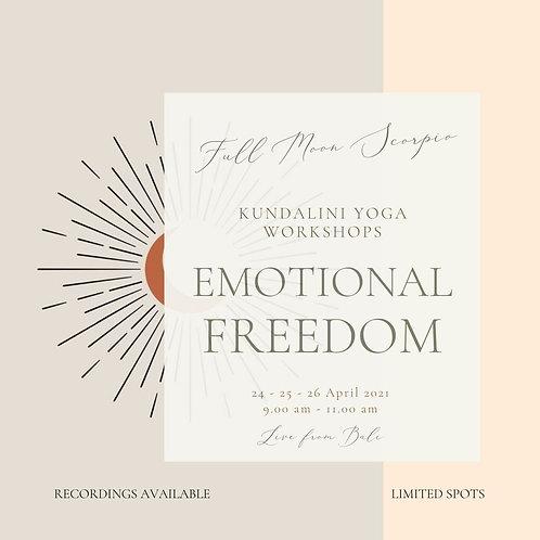 Full Moon Workshop Series - Emotional Freedom