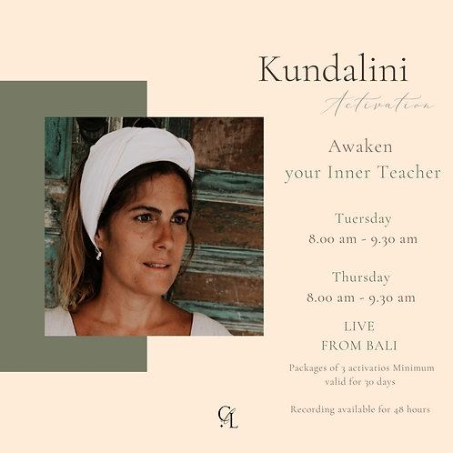 Silver Package - Weekly Kundalini Activations | 8 Activations