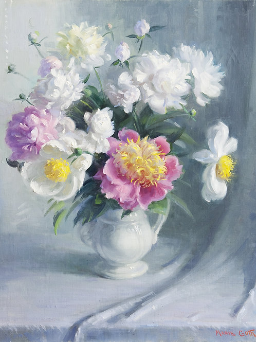 Peonies by Marie Goth