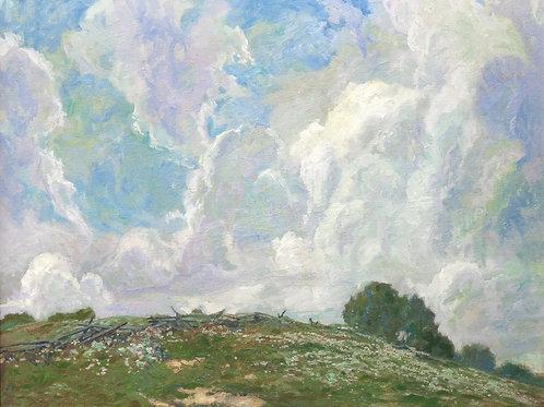 Summer Clouds Giclée by Carl Graf