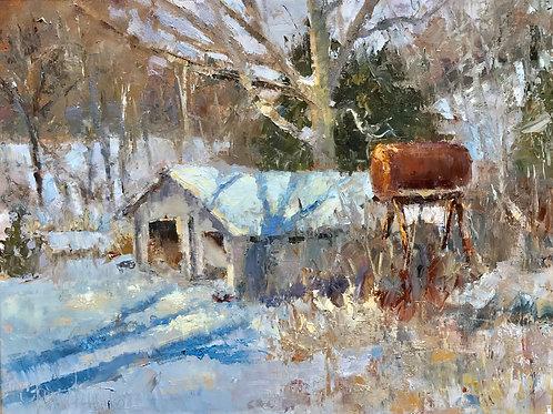 'Below the Pond' by Chris Newlund