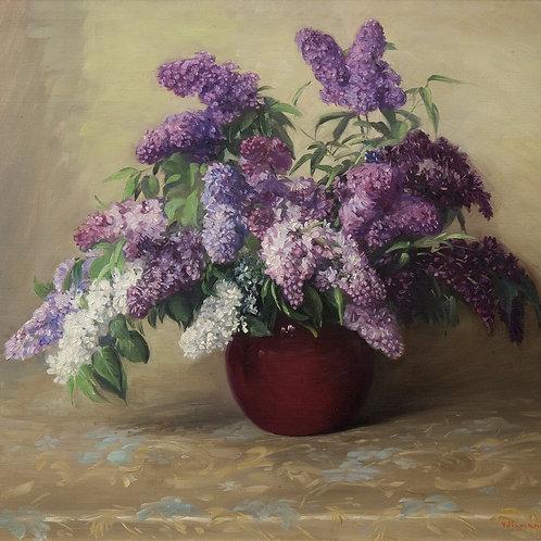 Lilacs by V.J. Cariani
