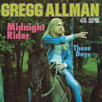 "Gregg Allman: Midnight Rider a.o. (12"", 45rpm-edition)"