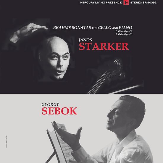 Brahms: Sonatas for Cello and Piano Nos. 1 & 2