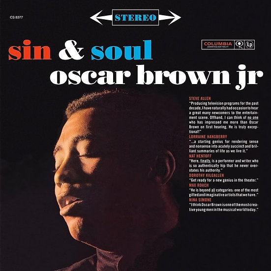 Oscar Brown Jr. : Sin & Soul