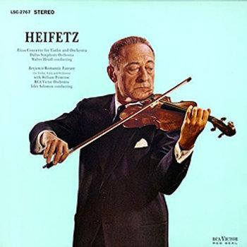 Rozsa: Violin Concerto / Benjamin: Romantic Fantasy