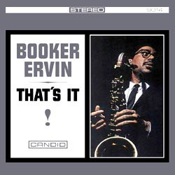 Booker Ervin: That's It!